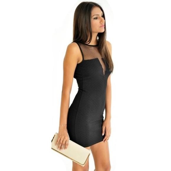 14fcb04ff0 Snooki Love Dresses | Sheer Mesh Bodycon Dress | Poshmark